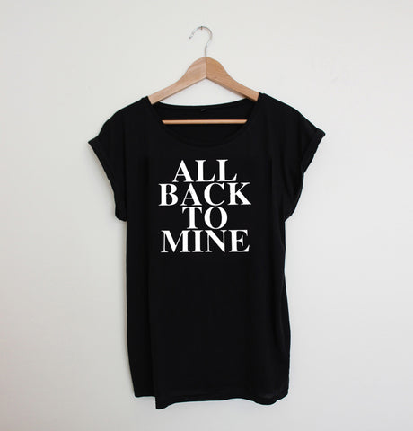All Back To Mine Ladies Black