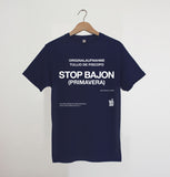 STOP BAJON  Navy xx only S left xx