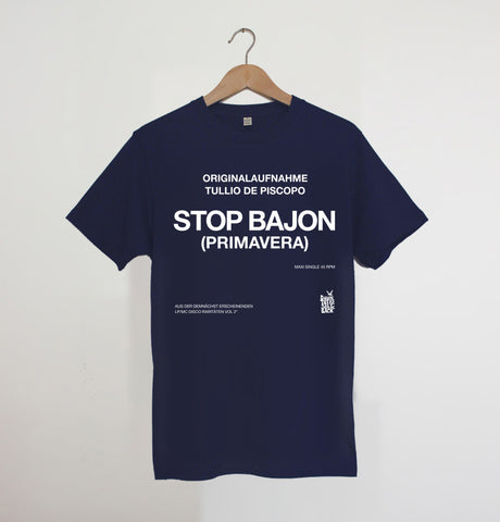 STOP BAJON  Navy xx only S & M left xx