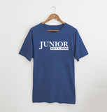 Junior Boys Own Logo Faded Denim xx M left XX