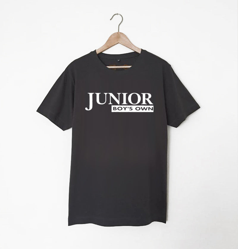 Junior Boys Own Logo Charcoal Grey