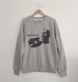 Jus' trax Marl Grey Sweatshirt xx 2XL left xx