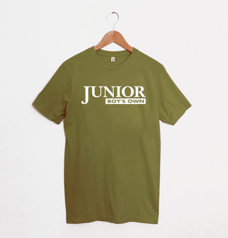 Junior Boys Own Logo Khaki/Green