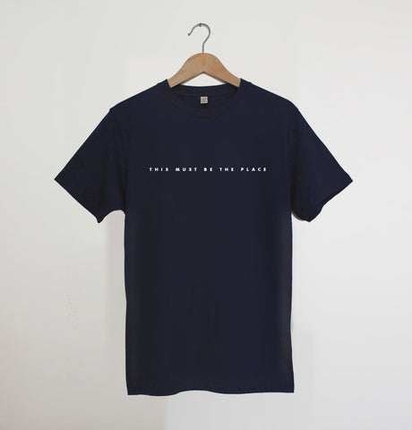 This Must Be The Place Navy xx 2XL left X