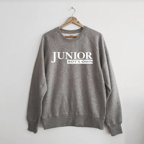 Junior Boys Own Marl Grey Sweatshirt