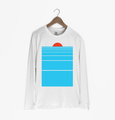 Warm Agency - 'Reservoir' Long Sleeve White