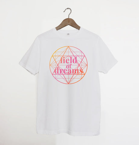 Field of Dreams Gradient White