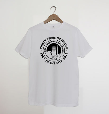 House Sound of Birmingham White xx 2XL left xx