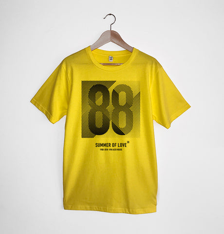 Summer of Love 30 Yellow xx S & XL left xx