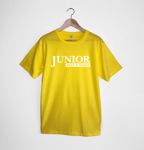 Junior Boys Own Logo Yellow