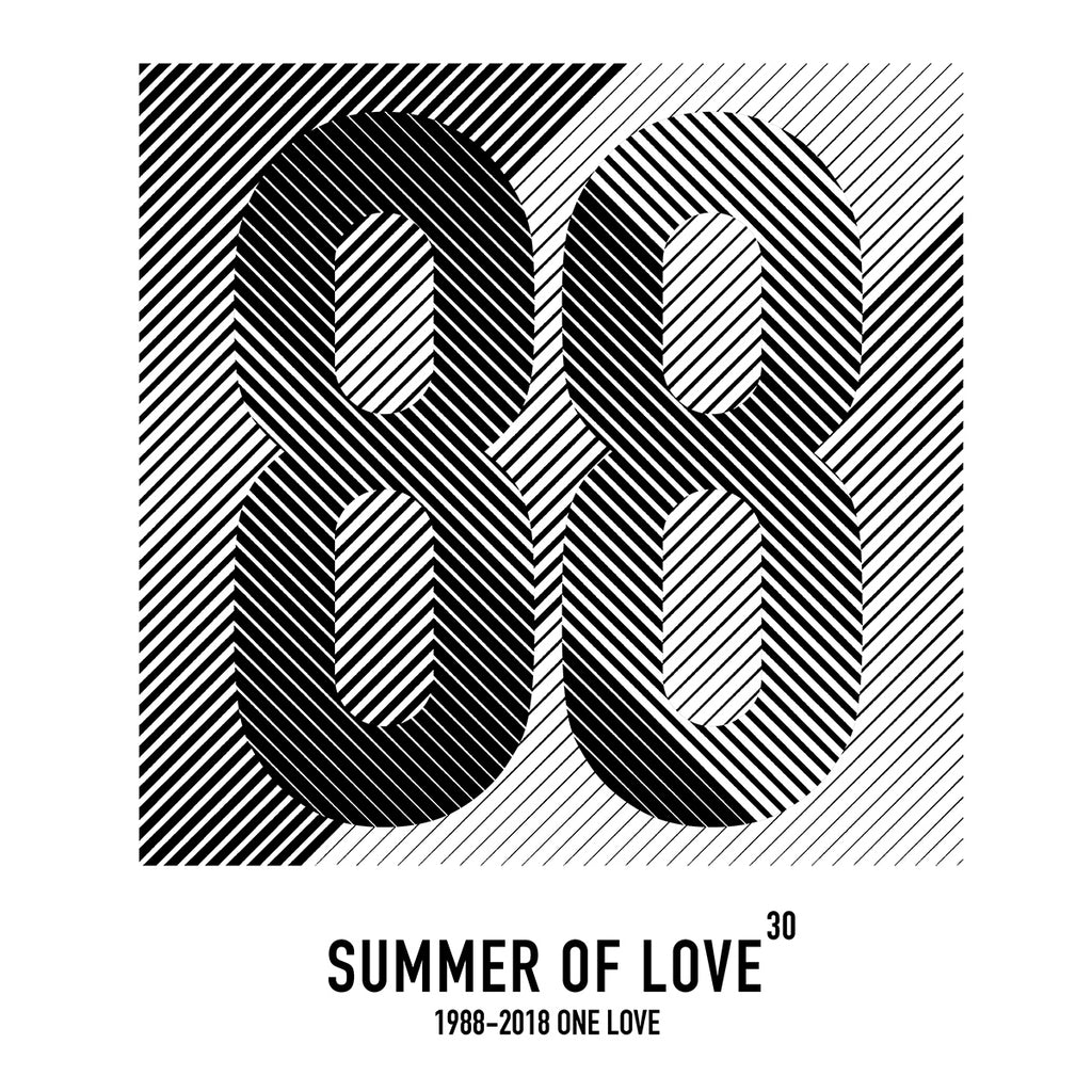 Summer of Love 30 Charcoal x S & 2XL left xx