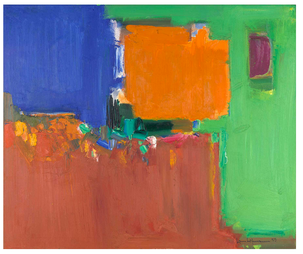 Hans Hofmann Indian Summer