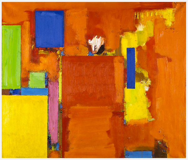 The Golden Wall - Art Institute of Chicago - Hans-Hofmann-Peabody-Essex-Museum