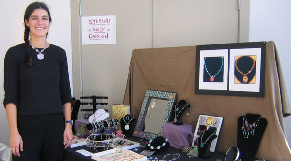 Stefanie Wolf Colorful Artisan Jewelry Martha's Vineyard San Francisco CIIS