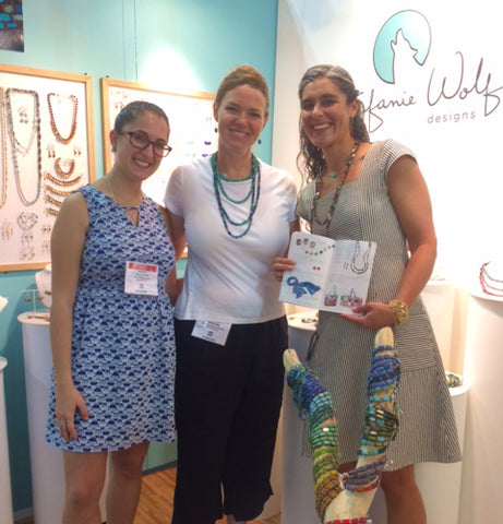 Kathryn and Stefanie with UncommonGoods Buyer & Catalog in New York