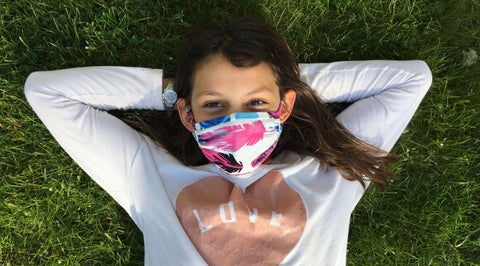 Tips for helping your child wear their face mask or cloth face covering back to school