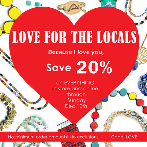Love for the Locals Sale Stefanie Wolf Martha's Vineyard 20% off SALE Studio Shop Edgartown