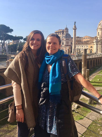 Roberta and Teo in Rome