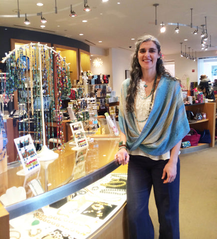 Stefanie Wolf Jewelry Artist Featured Peabody Essex Museum Shop PEM