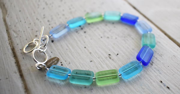 Seaglass Inspired Jewelry Martha's Vineyard Stefanie Wolf
