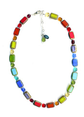 Kids Rainbow Necklace, Stefanie Wolf, Martha's Vineyard