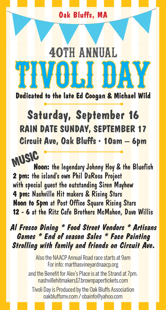 Tivoli Day in Oak Bluffs 2017 Stefanie Wolf