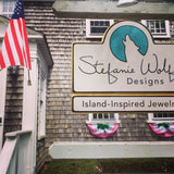 The sign at our location at 12 North Water St. in Edgartown