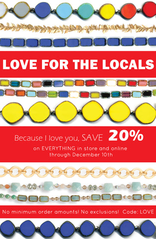Love for the Locals Sale Stefanie Wolf Designs Martha's Vineyard 20% OFF!