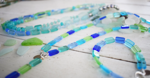 Seaglass inspired jewelry