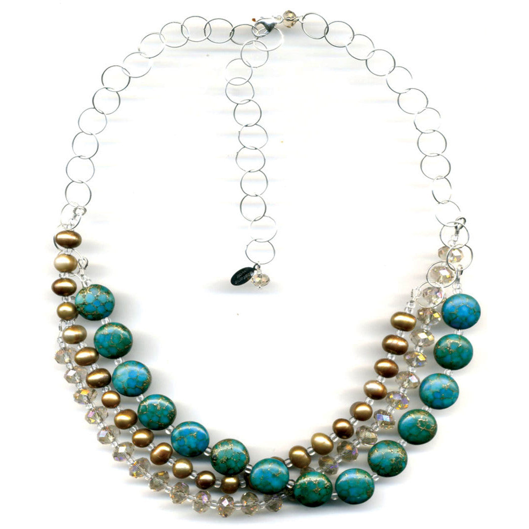 Desert Dreams Multistrand Necklace