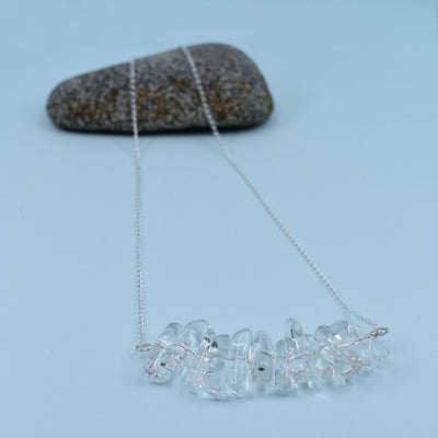Crystal Quartz Necklace, Limited Edition Crystal Clarity Collection