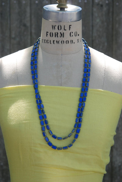 Long Beaded Necklace, 7 Ways to Wear, Trilogy 60""