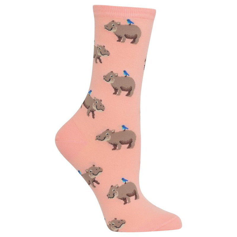 Socks with Hippos
