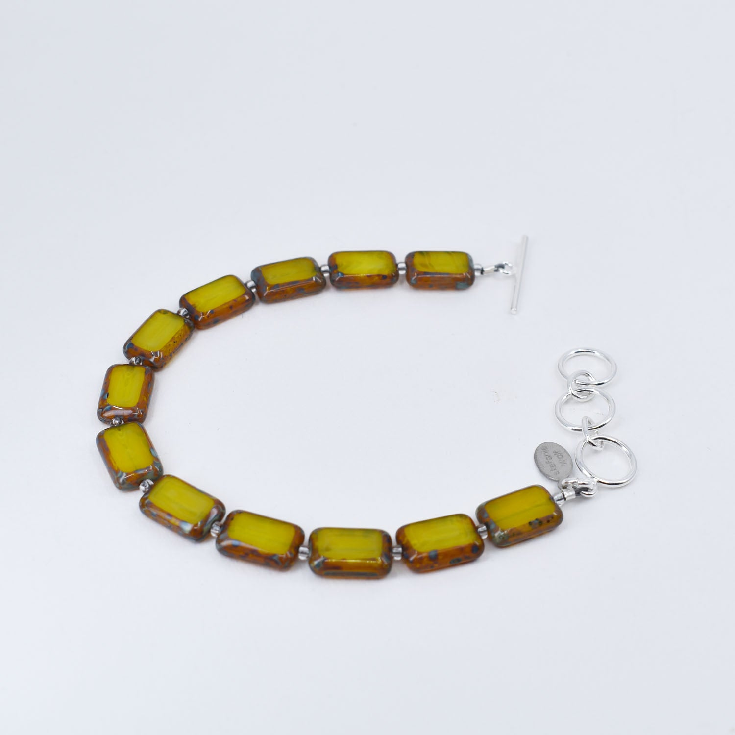 Single Strand Bracelet, Yellow