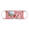 Face Mask, Dusty Pink Floral, Pleated Style
