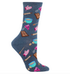 Socks with Baking Chocolate Chip Cookies