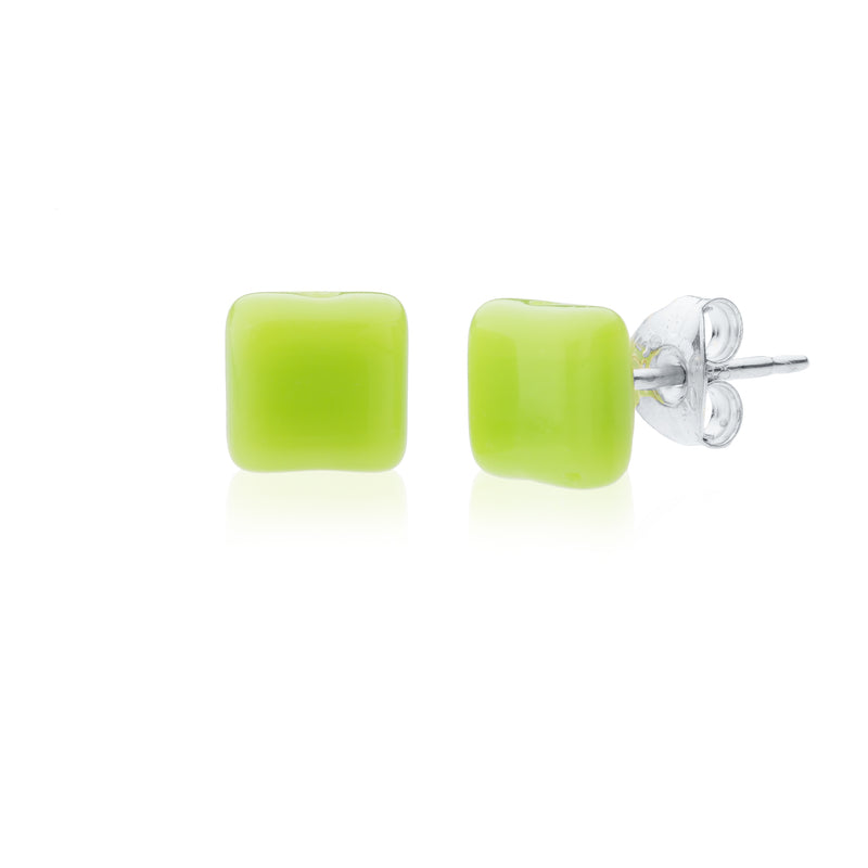Trilogy Tiny Stud Earrings