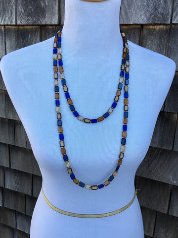 "Sample Sale, Trilogy 60"" Necklace, Montana Mix"
