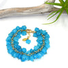 Rock Candy Bracelet, Blue