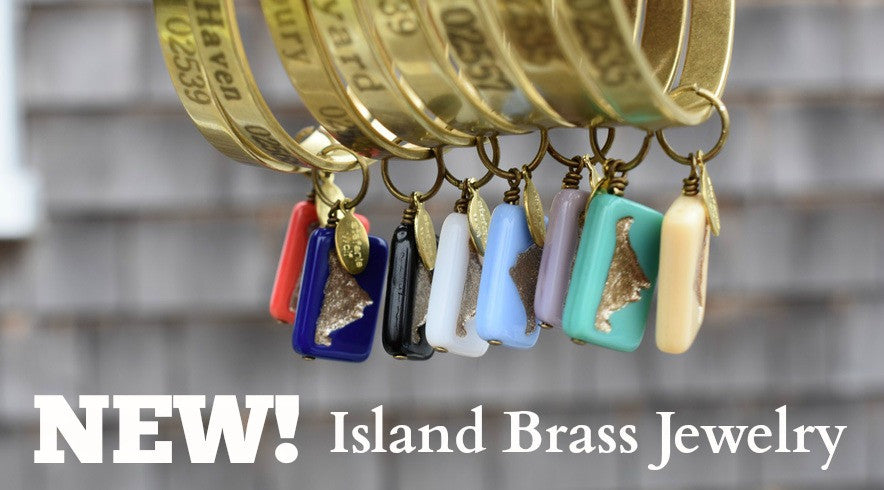 New island brass jewelry!