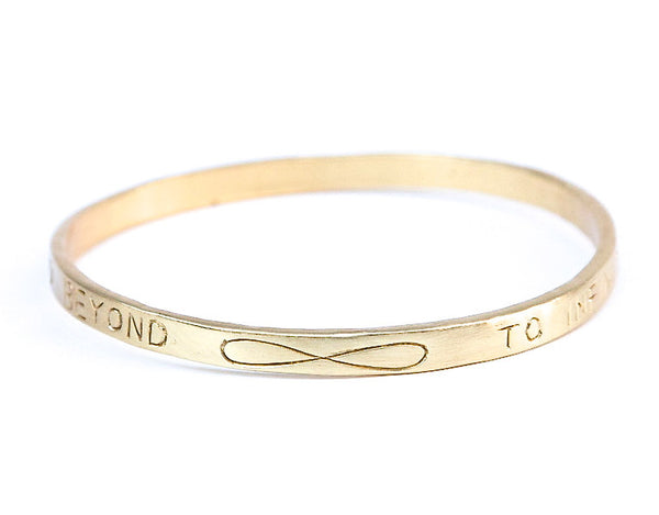 To Infinity and Beyond Bangle