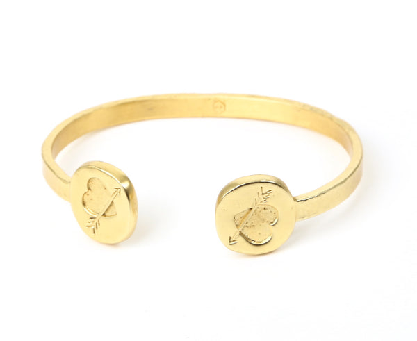 Heart & Arrow Bangle