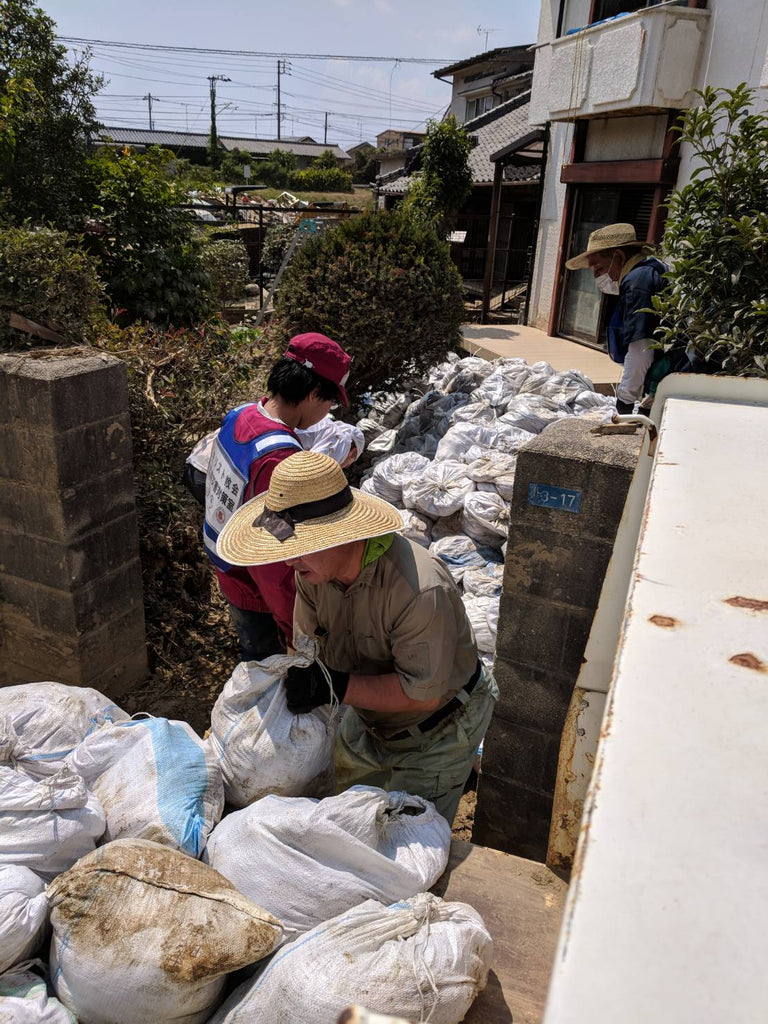 Giving Back: Flood Relief in Western Japan