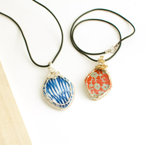 Juli Wire Wrap Necklace