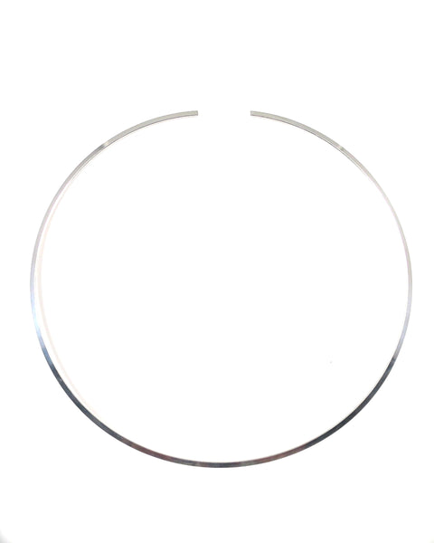Silver Wire Neck Collar(2mmDainty)