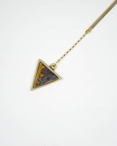 Mei Bar Gold Necklace (44-202)