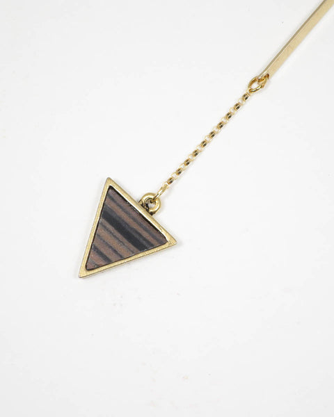 Mei Bar Gold Necklace (44-187)