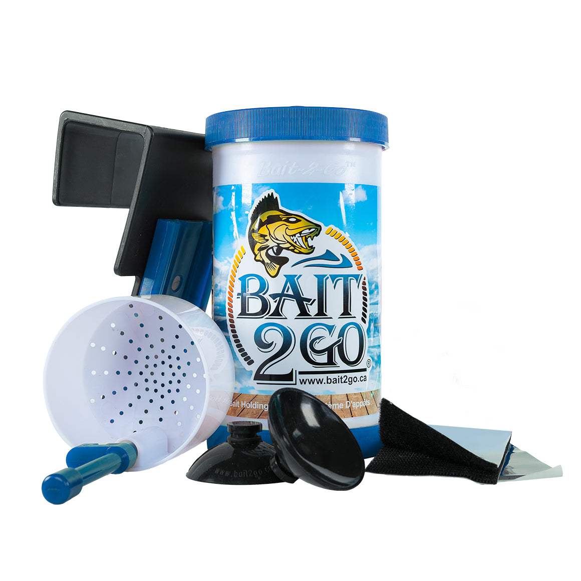Bait2Go Full Kit – Bait2Go - Bait Bucket and Fishing Accessories