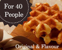 160 Mini Original & Assorted Flavour Waffles
