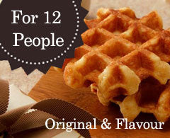 50 Mini Original & Assorted Flavour Waffles